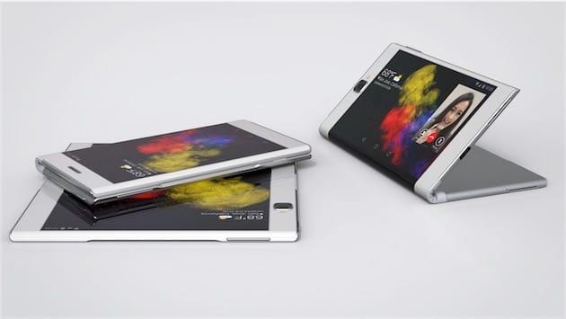 Nouveau Mobile Samsung Galaxy X : Le Téléphone Qui Se Plie, Mais Ne Casse Pas !