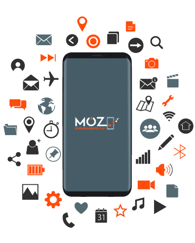 Reparer-mobile-MOZ78-applications-connectees