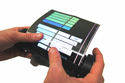 Scrollez Avec MagicScroll : L'écran De La Tablette Tactile Du Futur Qui S'enroule Autour D'un Cylindre !